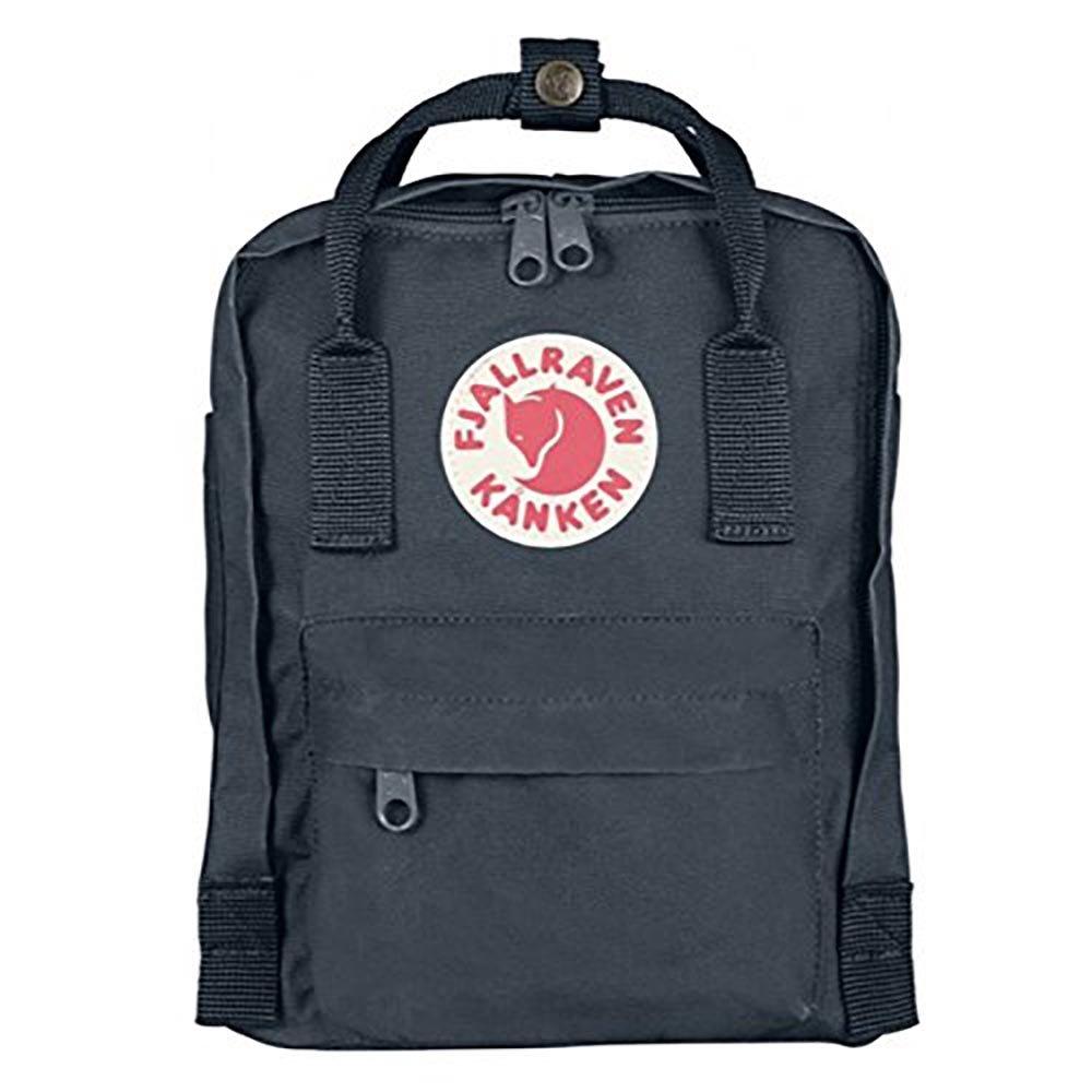 (フェールラーベン) FJALL RAVEN カンケン バッグ 7L カンケン ミニ リュック kanken mini bag バックパック リュック レディース ナップサック 通学 子供用 キッズ ナップサック 7L [並行輸入品] B00ZI0LE7K Graphite Graphite