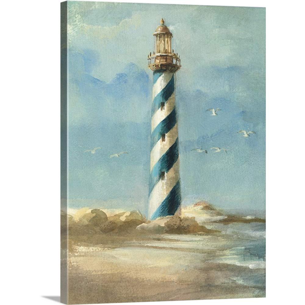 Danhui Naiプレミアムシックラップキャンバス壁アート印刷題名灯台I 30