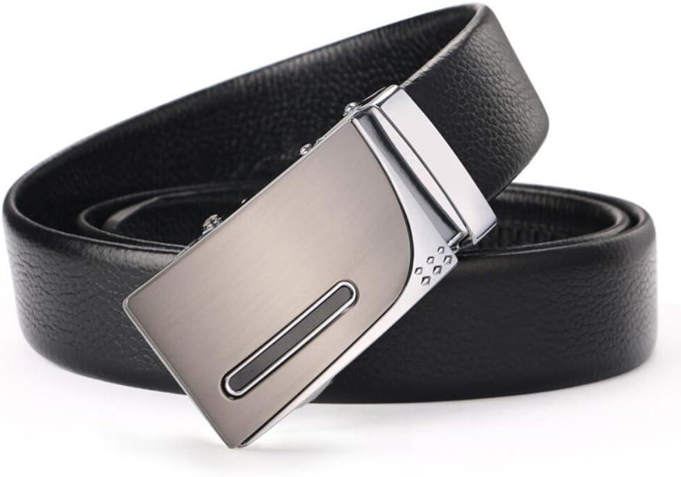 XUEXUE Mens Belt,Automatic Buckle Belt,Business Work Active Basic Leather,Comfortable Adjustable Formal Belts,Casual Cowboy Wear /& Work Clothes Uniform
