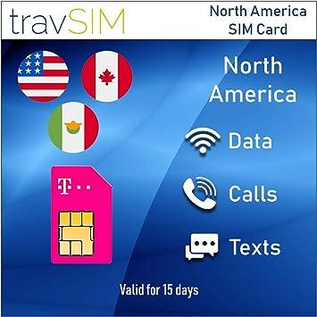 Tarjeta SIM Prepagada USA, Canadá Y México - 50 GB USA: Amazon.es: Electrónica