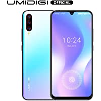 """UMIDIGI X Unlocked Cell Phones in-Screen Fingerprint with 6.35"""" HD+ AMOLED All Screen, 128GB+4GB RAM Unlocked Smartphone with 48MP AI Triple Camera, Dual 4G Volte NFC"""