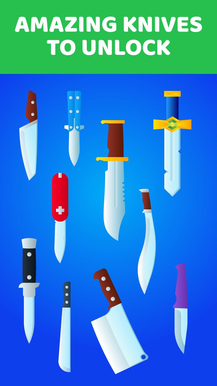 Juego De Cuchillos - Lanzar Cuchillos: Flip The Knife - Hit ...