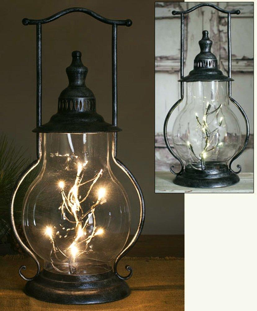 Beautiful Unique Classical Large Steeple Lantern & LED Angel Tears Light String