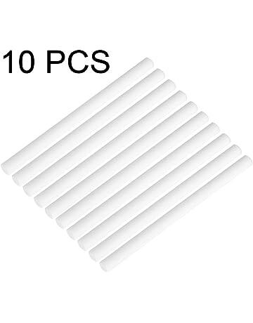 DGTRHTED Filtros humidificadores - 10 Paquetes Mini Humidificador USB Portátil Reemplazo Esponjas Repuesto Stick