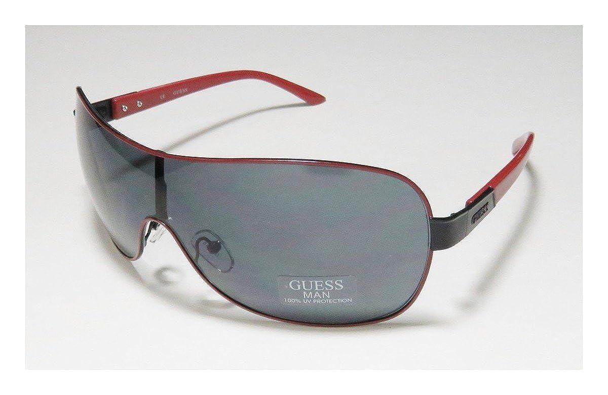 4b4524b0213626 Guess Hommes Lunettes de soleil Rouge GUF112-RD-3  Amazon.fr  Vêtements et  accessoires