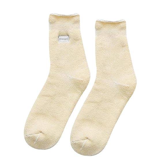 UJUNAOR - Calcetines de Estar por casa - para Mujer Amarillo M: Amazon.es: Ropa y accesorios
