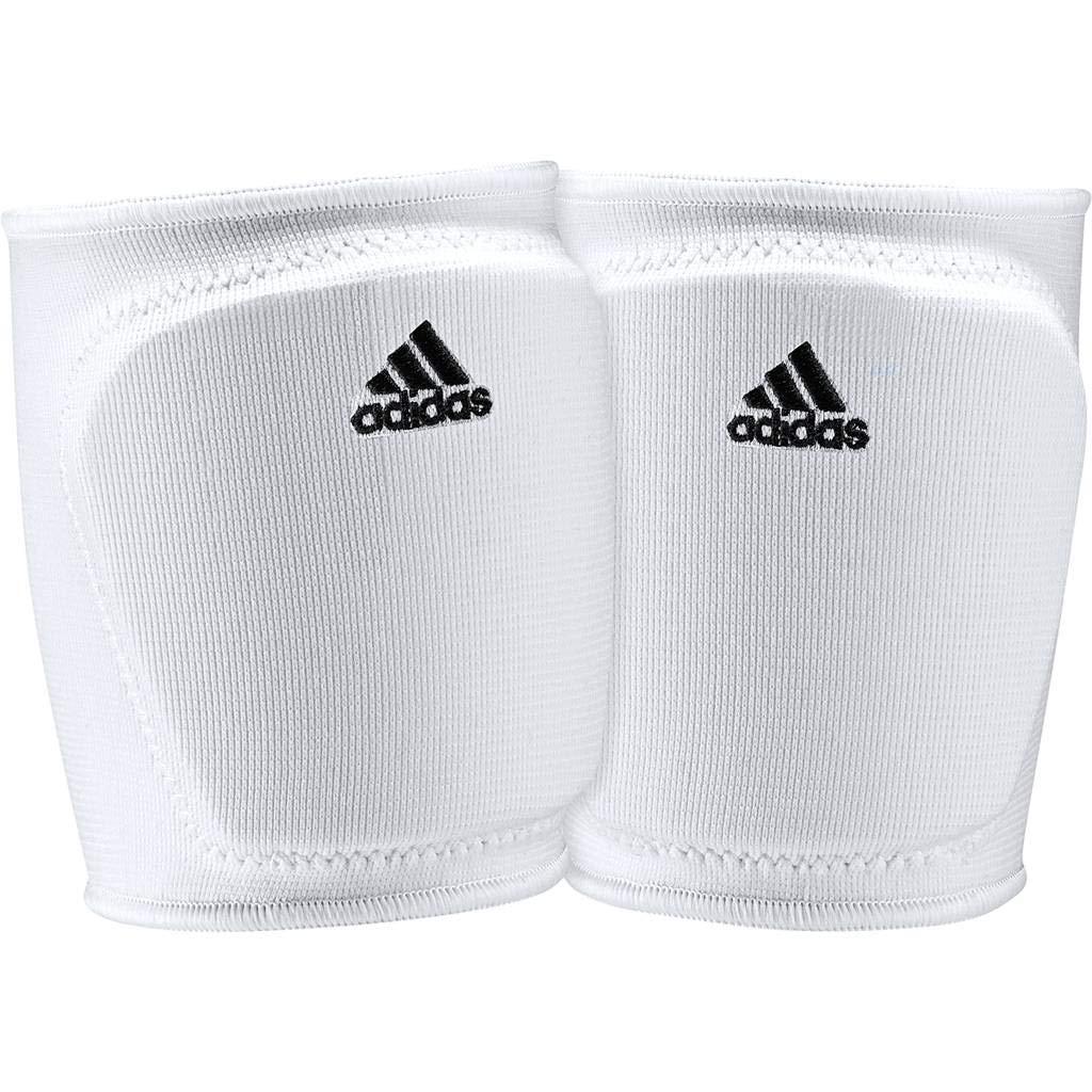 Adidas ClimaLiteバレーボール膝パッド ホワイト Medium