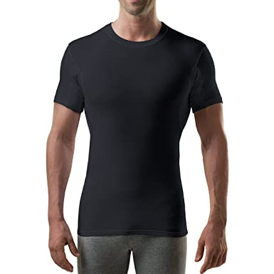 dbb188e92e61ef Image Unavailable. Image not available for. Color  Sweatproof Undershirt  for Men with Underarm Sweat ...
