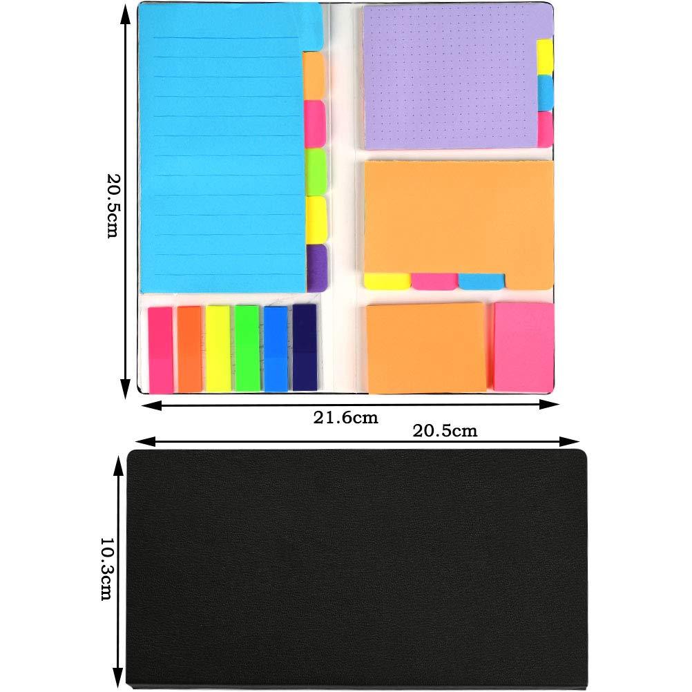 YOTINO Set Note Autoadesive Note Adesive per Ufficio Note Etichette Scrivibile 426 Fogli Note Adesive Colorate e Segnapagina Adesivo Carta