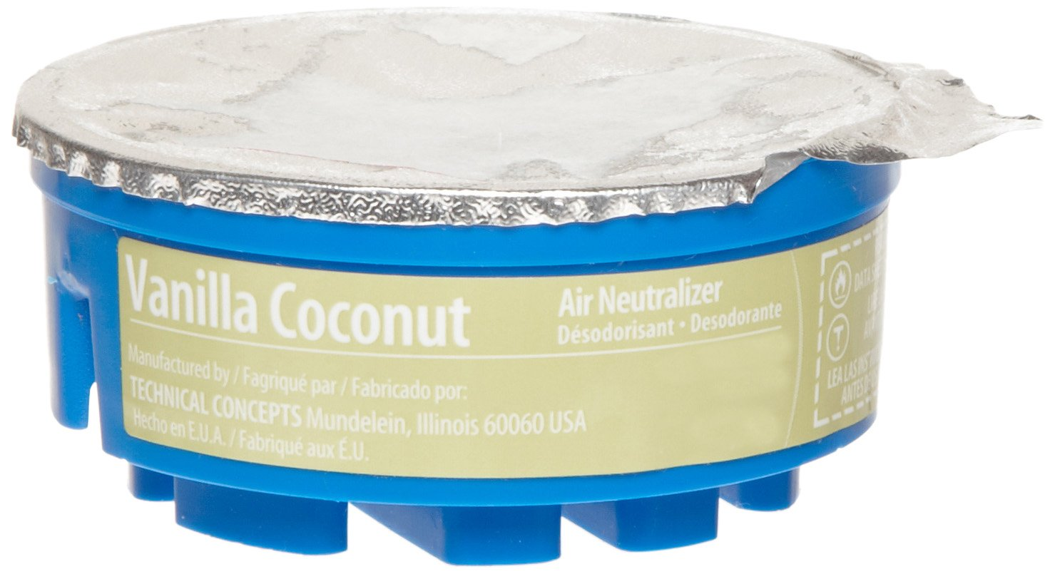 Rubbermaid Commercial FG750328 Refill for TC Gel Automatic Air Freshener System, Vanilla Coconut