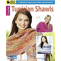 Leisure Arts Tunisian Shawls