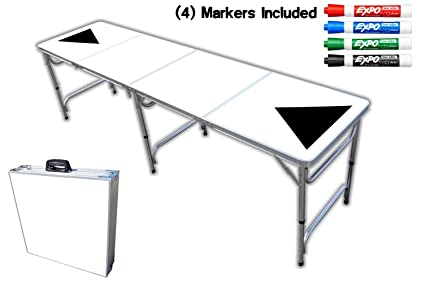 Amazoncom Foot Professional Beer Pong Table Dry Erase Graphic - 8 foot office table