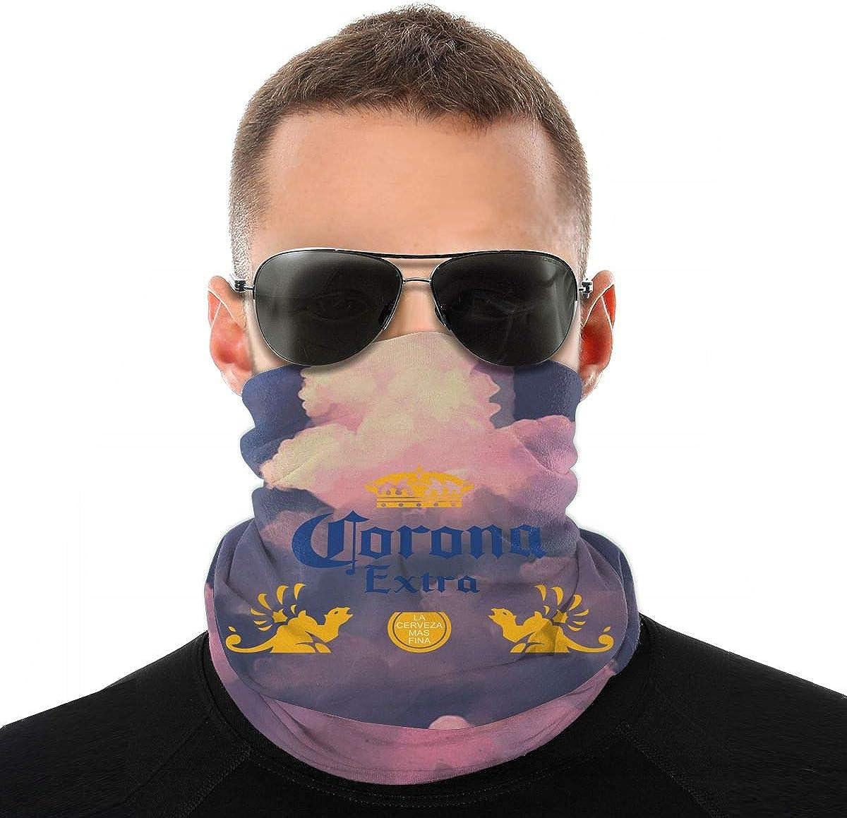 Corona, accesorio extra de cerveza, protector para la cara, pasamontañas