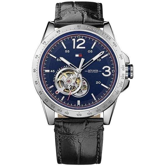 Tommy Hilfiger casual Sport eysse-reloj analógico de cuarzo de cuero 1791253