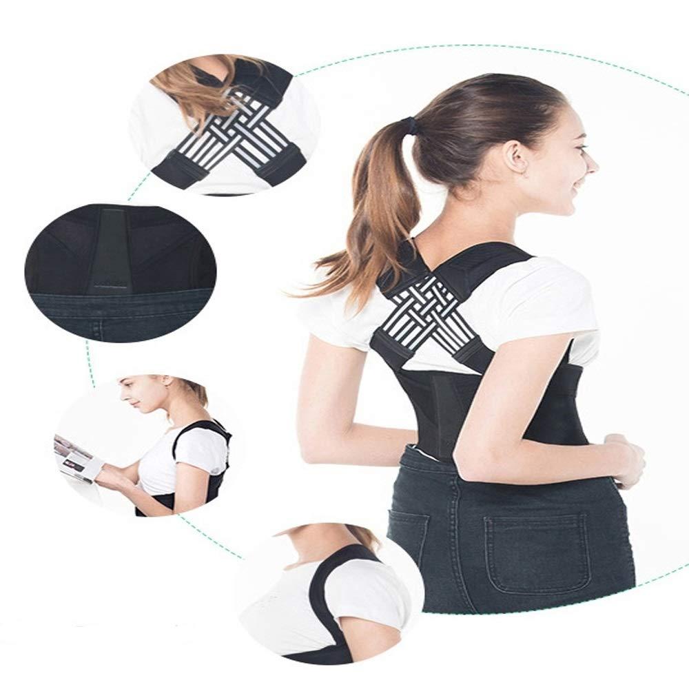 BLWX - Back Support Belt - Student Hunchback Correction Clothing Adult Boys and Girls Correction Kyphosis Correction Belt Correction Belt Humpback Correction Belt (Size : L) by BLWX-Humpback correction belt (Image #2)