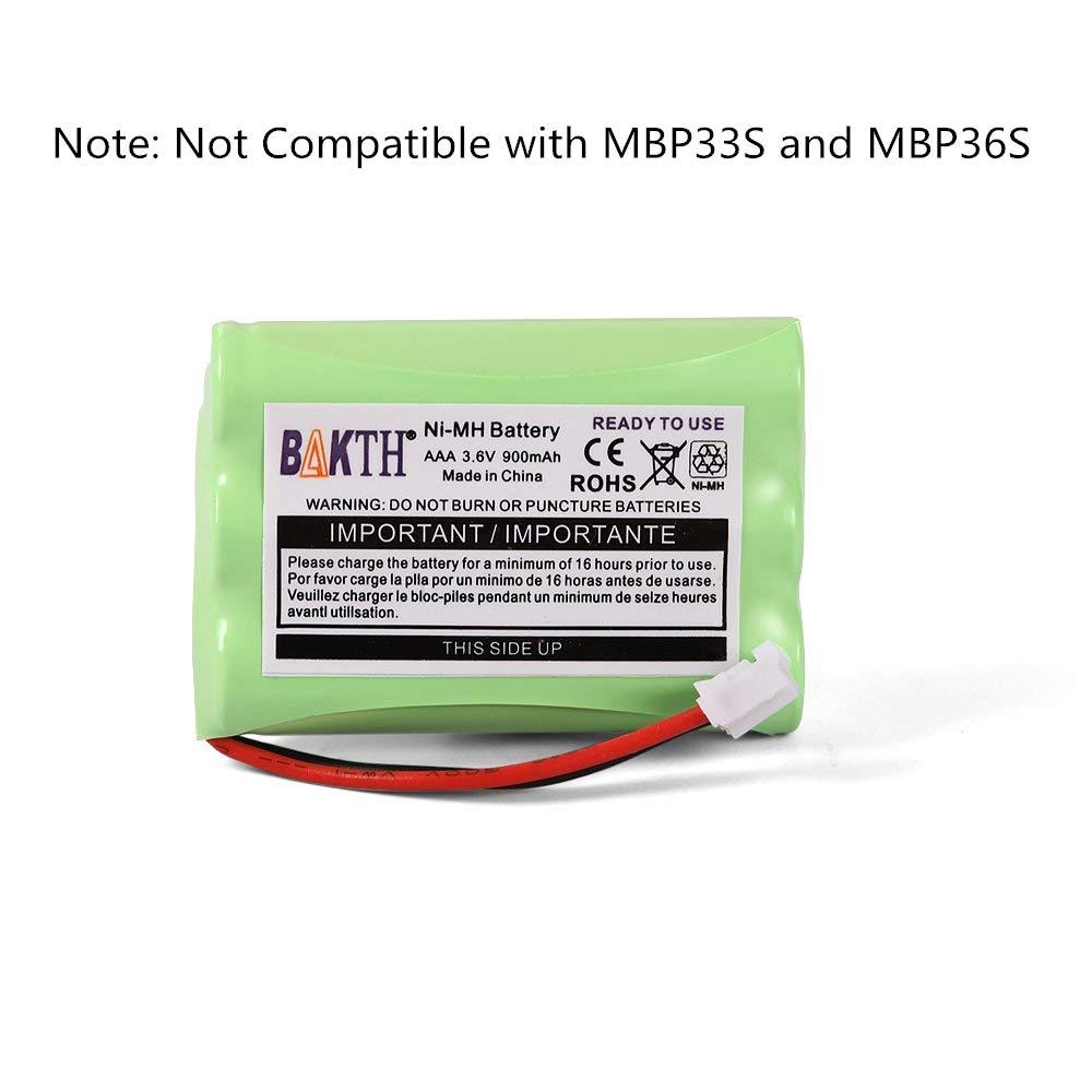 Motorola MBP482  JUSTHIGH Ni-MH BATTERY AAA 3.6V 900mAh for Baby Monitor