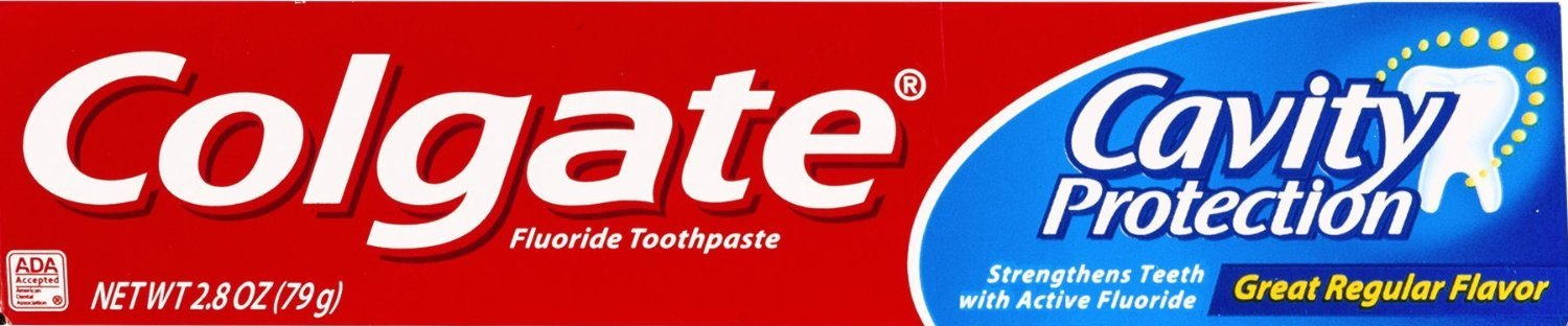 Colgate Cavity Protection Toothpaste Great Regular Flavor 2.8 Oz Travel Size (Pack of 12)
