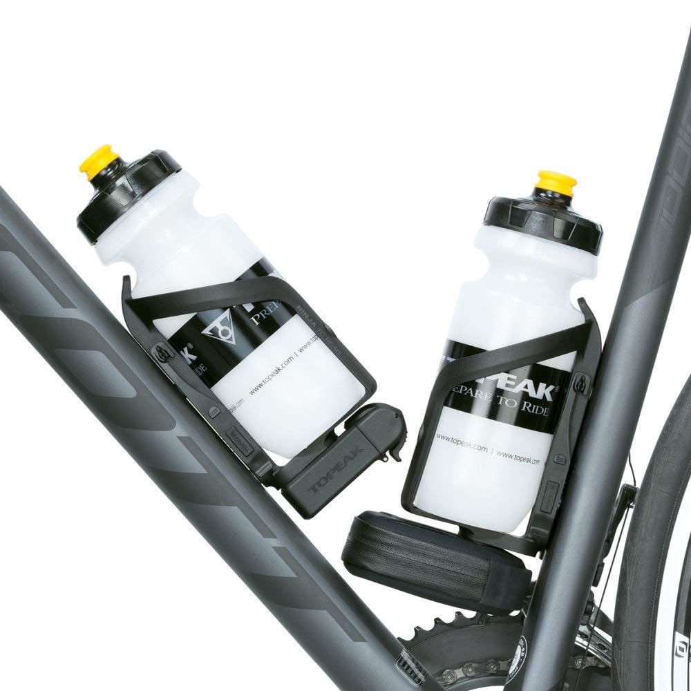 Topeak NINJA Pouch + Road bicicleta soportes para botellas/ incluyendo la bolsa para/ Cámara de aire para bicicleta