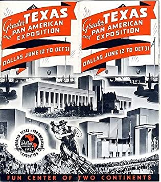 Image result for Greater Texas & Pan-American Exposition 1937