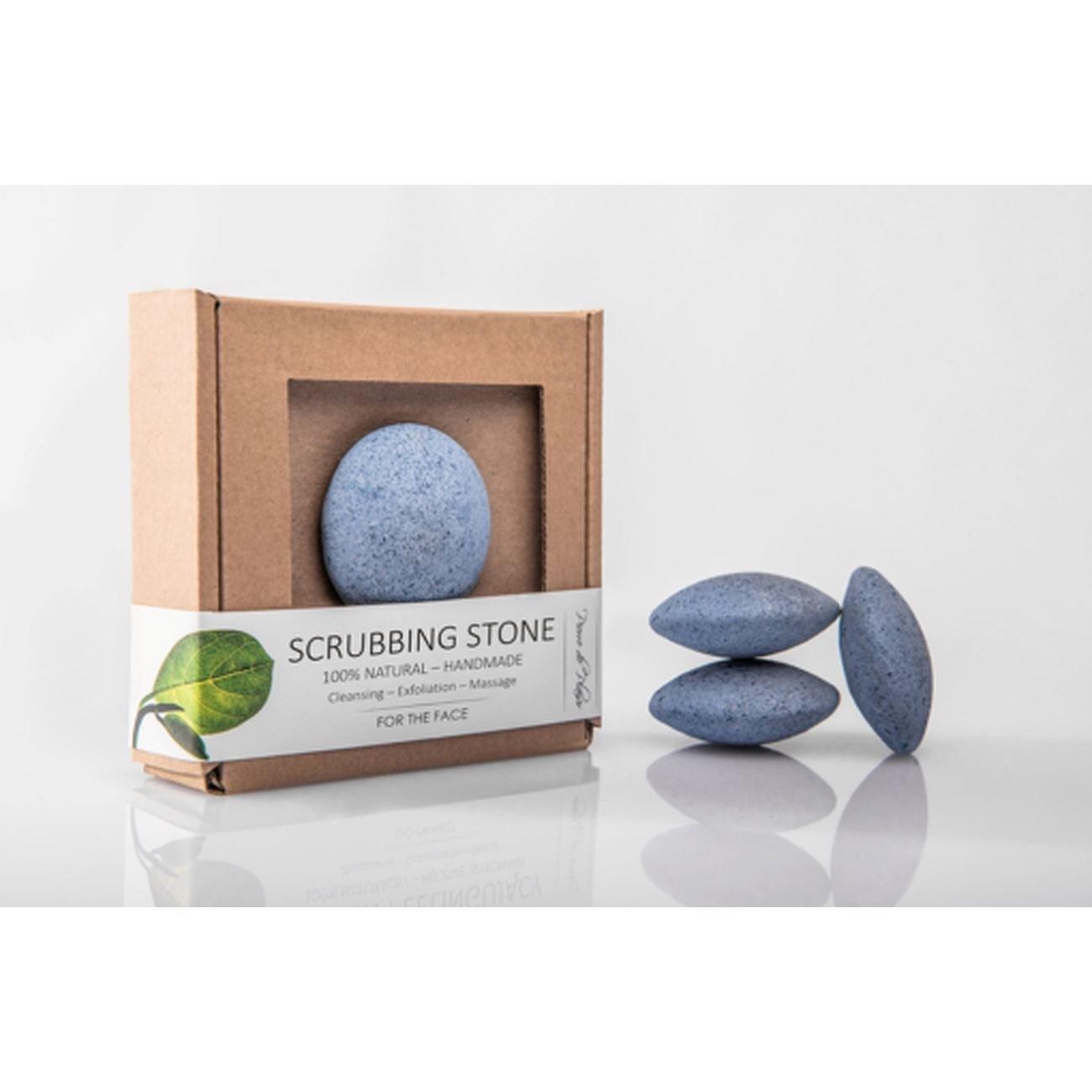 Pierre de Plaisir - Natural Scrubbing Stone for the Face Blue - 40g by Pierre de Plaisir