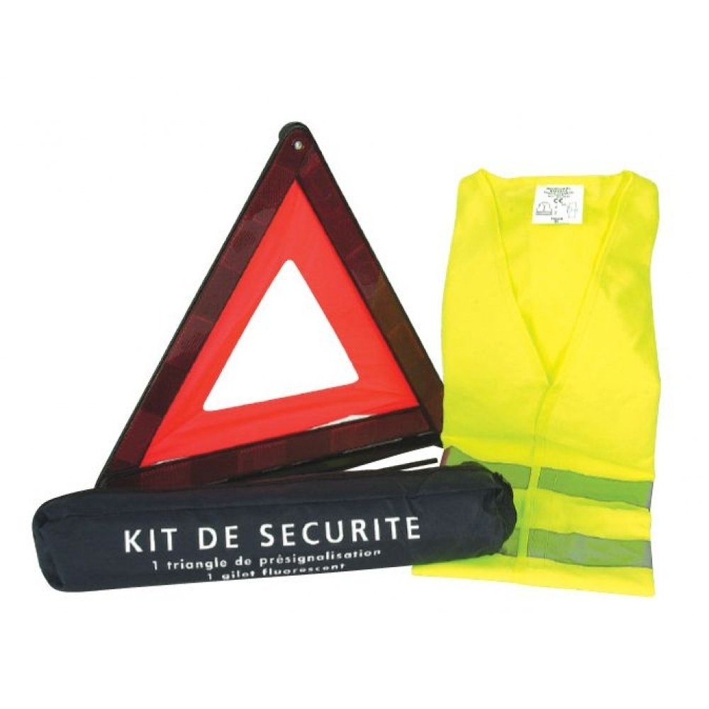 Norep 011435 Kit Sécurité Triangle Gilet