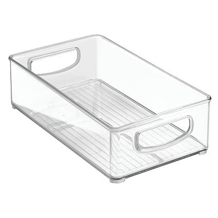 InterDesign 64330 Home Organizer Bin For Pantry, Refrigerator, Freezer U0026  Storage Cabinet, 10u0026quot