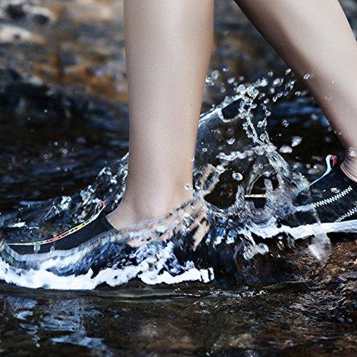 Tanz Aquaschuhe Yoga Ketteln Unisex Training Tauchen Schwarz Wasser Sportschuhe Schuhe Wenyujh Fitnessschuhe Gummisohle Herren Atmungaktiv Strandschuhe Rutschfest Schuhe Damen Mesh EVA ZtWWa1Tqw