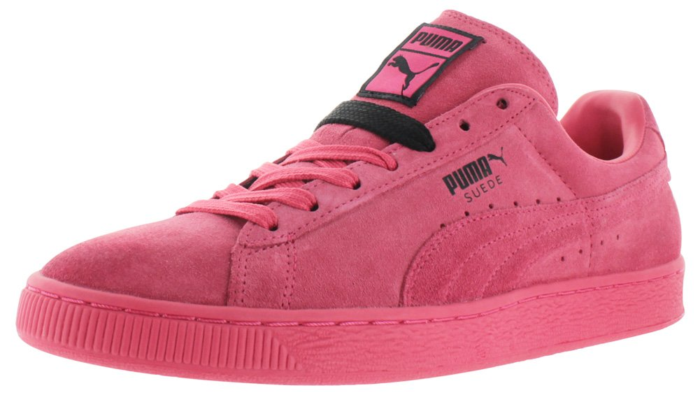 PUMA Men's Suede Classic+ Teaberry Red/Black Athletic Shoe by PUMA