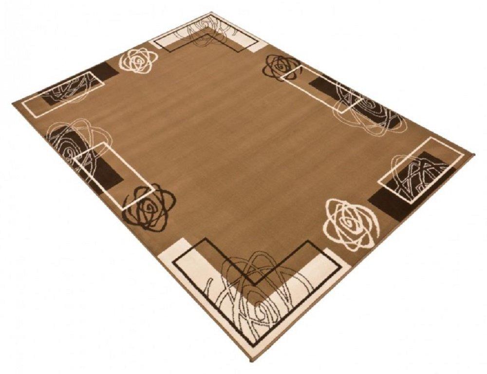 Hellbraun Hellbraun Hellbraun beige Teppich   moderner Teppich   Wohnzimmerteppich   Wohnzimmerteppich in schönen Farben   Robust und Strapazierfähig 160 x 230 cm . Dieses Highlight der neuen Kollektion beeindruckt durch einzigartige Farbkombination. Dieses Highlig f1df6f