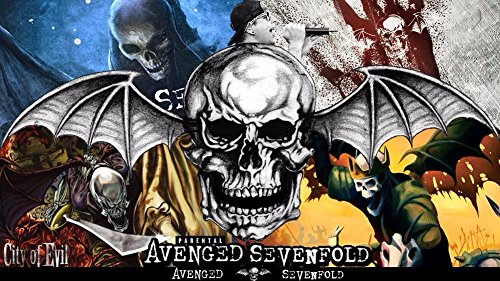 Avenged Sevenfold Metal band Fabric Cloth Rolled Wall Poster Print
