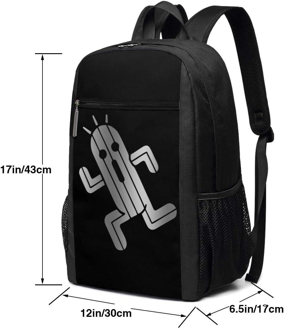 GgDupp Final Fantasy Cactuar School Bag Travel Backpack 17 Inch Laptop Bag
