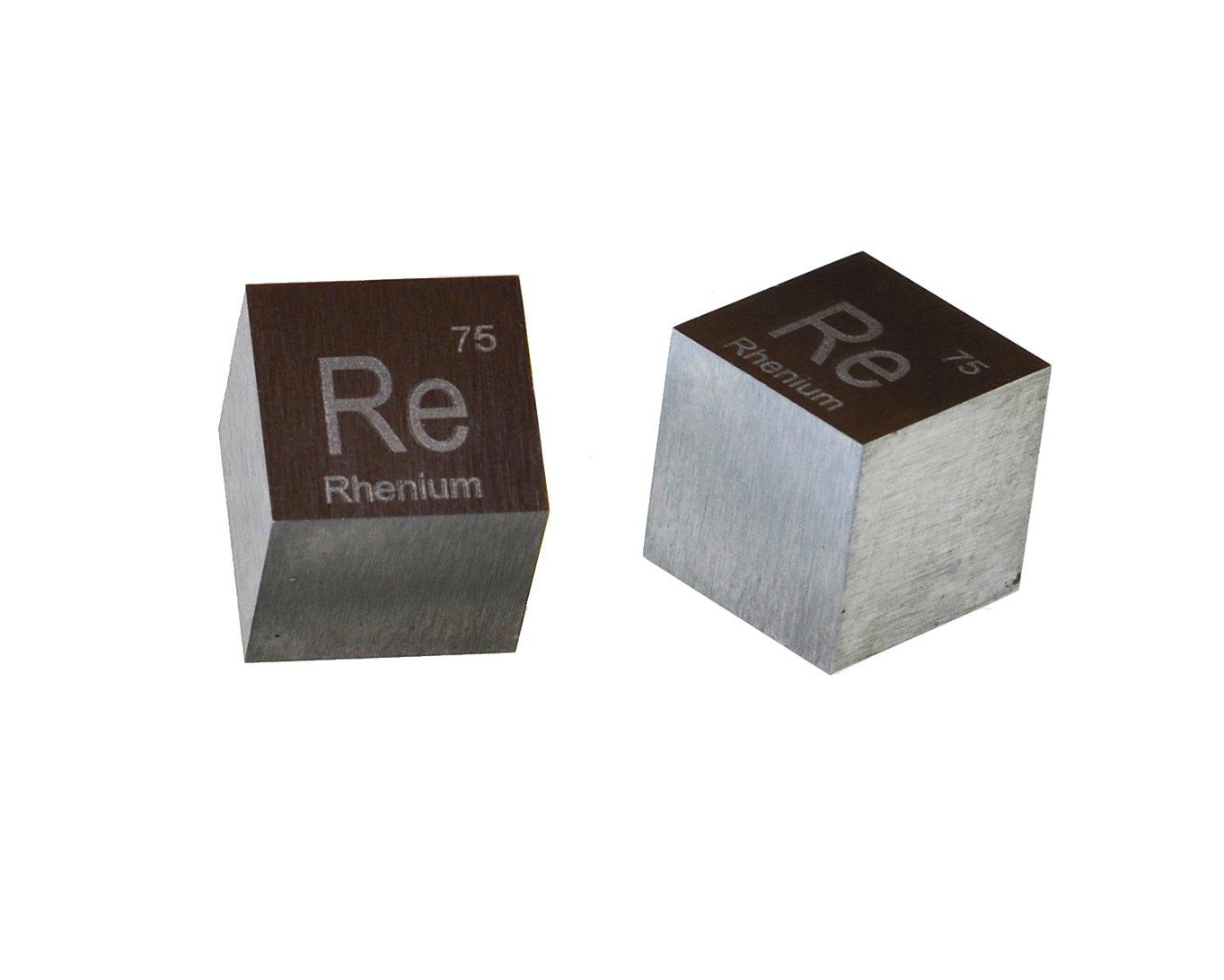 Vanadium Metal 10mm Density Cube 99.95/% Pure
