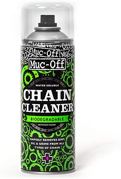 Muc-Off Desengrasante de Cadena Spray Chain Cleaner 400ml: Amazon ...