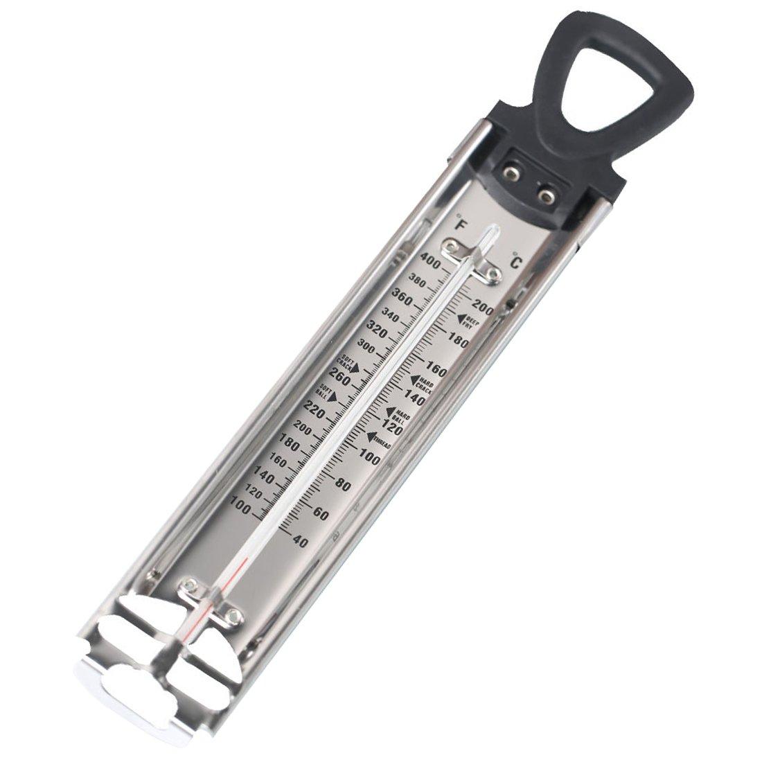 Edelstahl Zucker Jam Thermometer–Silber Hisuper-Store