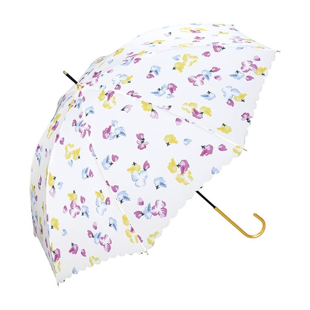 D  Parapluie Poignée dorée légère Retro Elegant Frais Personnalité Longue Poignée ZJING (Couleur   E)