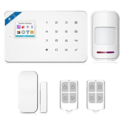 Amazon.com : WIFI GSM Security Alarm Wireless DIY Home and ...