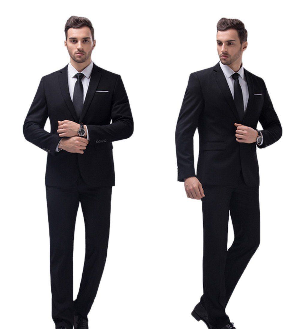 Love Dress Wedding Suits for Groom Tuxedos for Men Jacket Pant Black 5XL