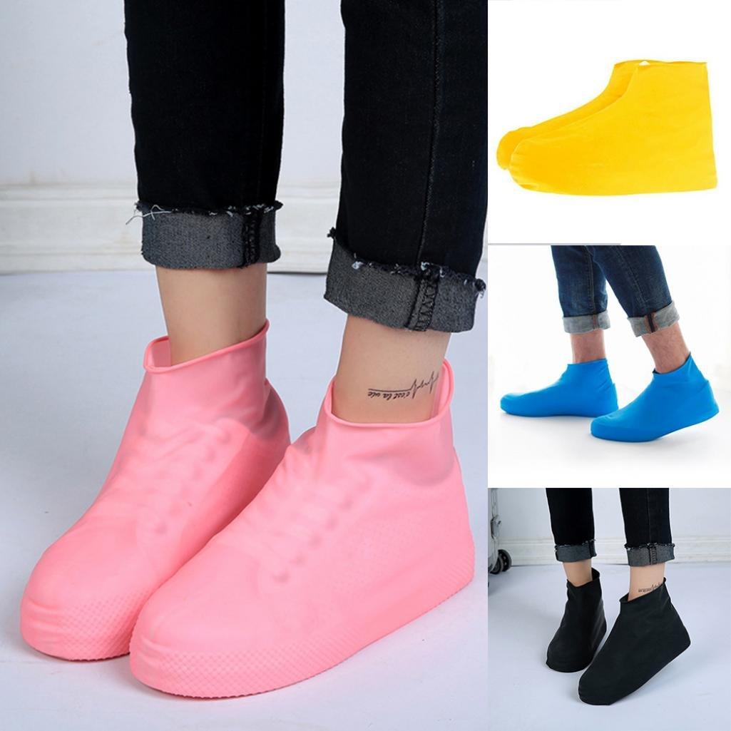 Fundas de látex desechables para proteger los zapatos. De quanjucheer , Amarillo, Small
