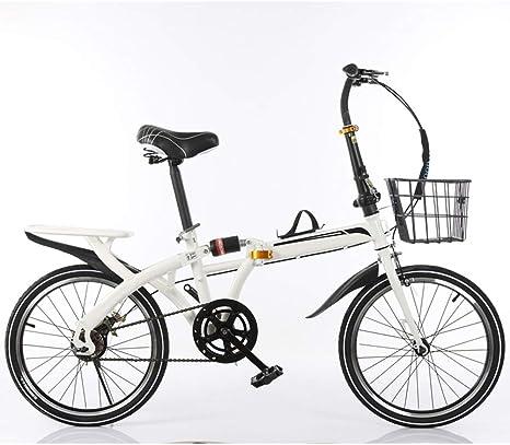 KXDLR 16 Pulgadas Bicicleta Plegable Resistente A Los Golpes Fuera ...