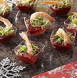 Mozaik Premium Plastic Mini Appetizer & Dessert