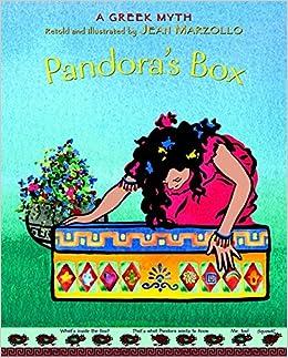 pandora s box a greek myth about the constellations jean  pandora s box a greek myth about the constellations jean marzollo 9780316741330 com books