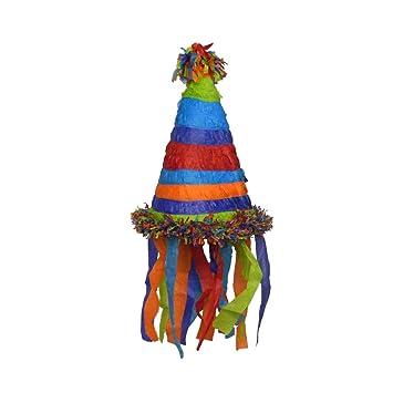 Piñata sombrero sombreros de cumpleaños infantiles: Amazon ...