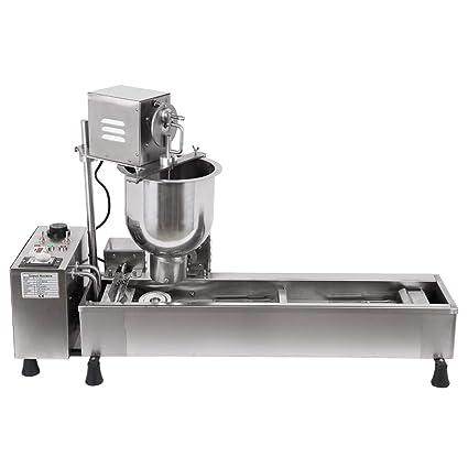 Amazoncom Ridgeyard Stainless Steel Commercial Donut Maker 3kw