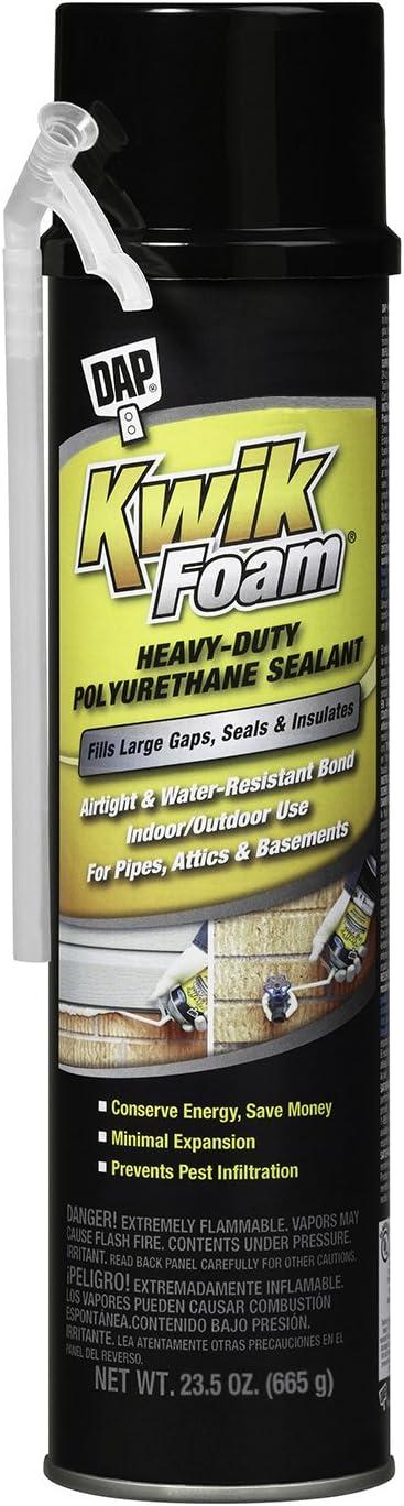 Dap 18232 Kwik Foam Polyurethane Sealant 23.5 Ounce