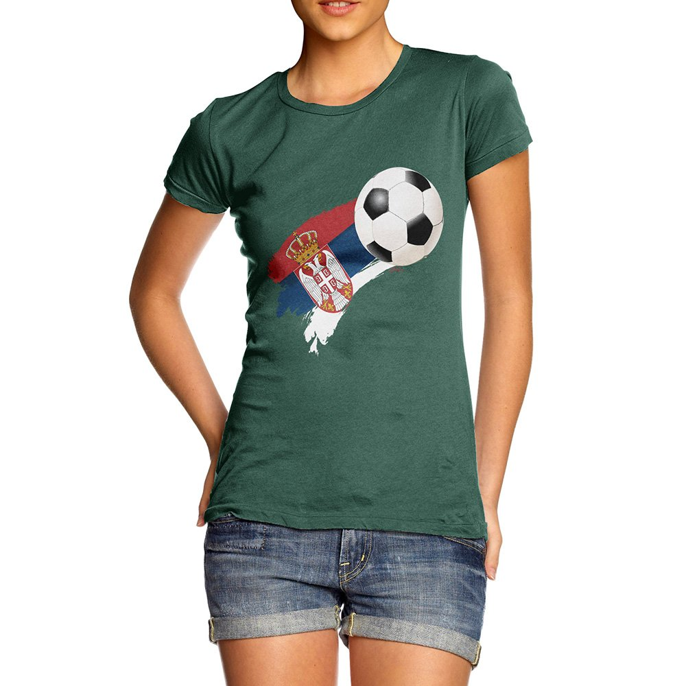 TWISTED ENVY Baby Pants Serbia Football Soccer Flag Paint Splat