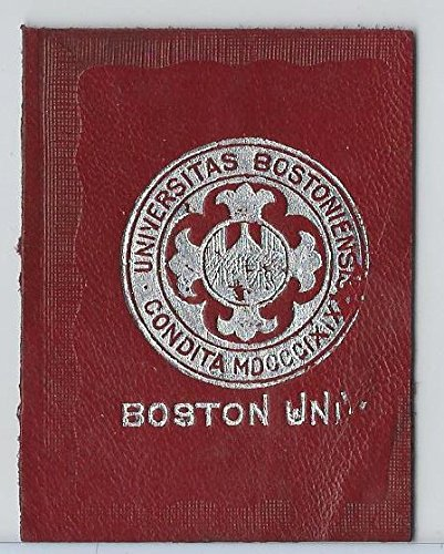 L20 American Tobacco Leather, College Seals, 1912, Boston (Red)