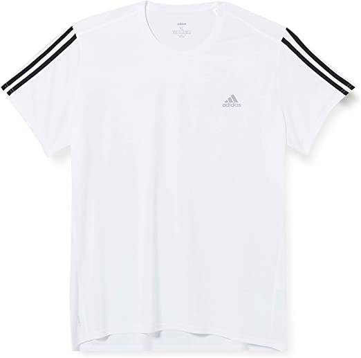 TALLA S. adidas Run It tee 3s M Camiseta de Manga Corta, Hombre