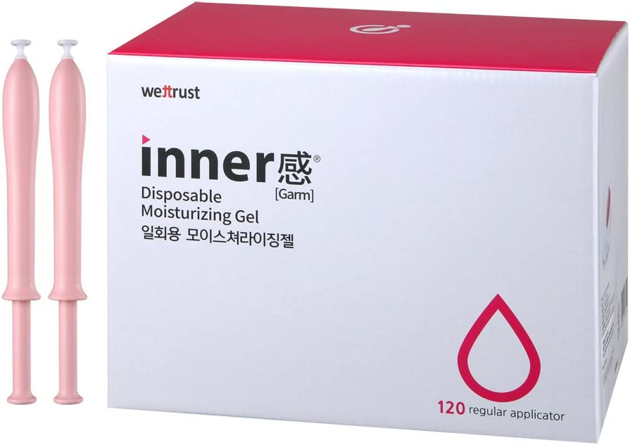Wettrust Pro Innergarm Inclear Lubricant Gel for Sex Disposable Syringe Type (120): Health & Personal Care
