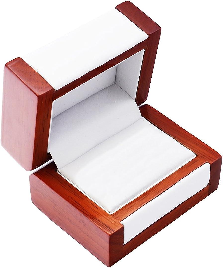 EYS JEWELRY® estuche de joyería para anillos de boda 80 x 60 x 50 ...