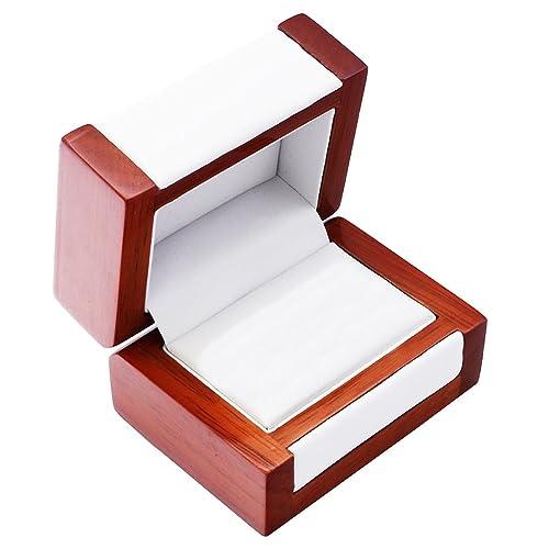 EYS JEWELRY® estuche de joyería para anillos de boda 80 x 60 ...